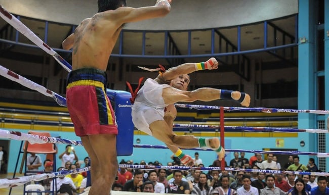 Burmese Lethwei fighters