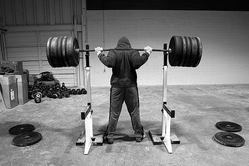back squat heavy