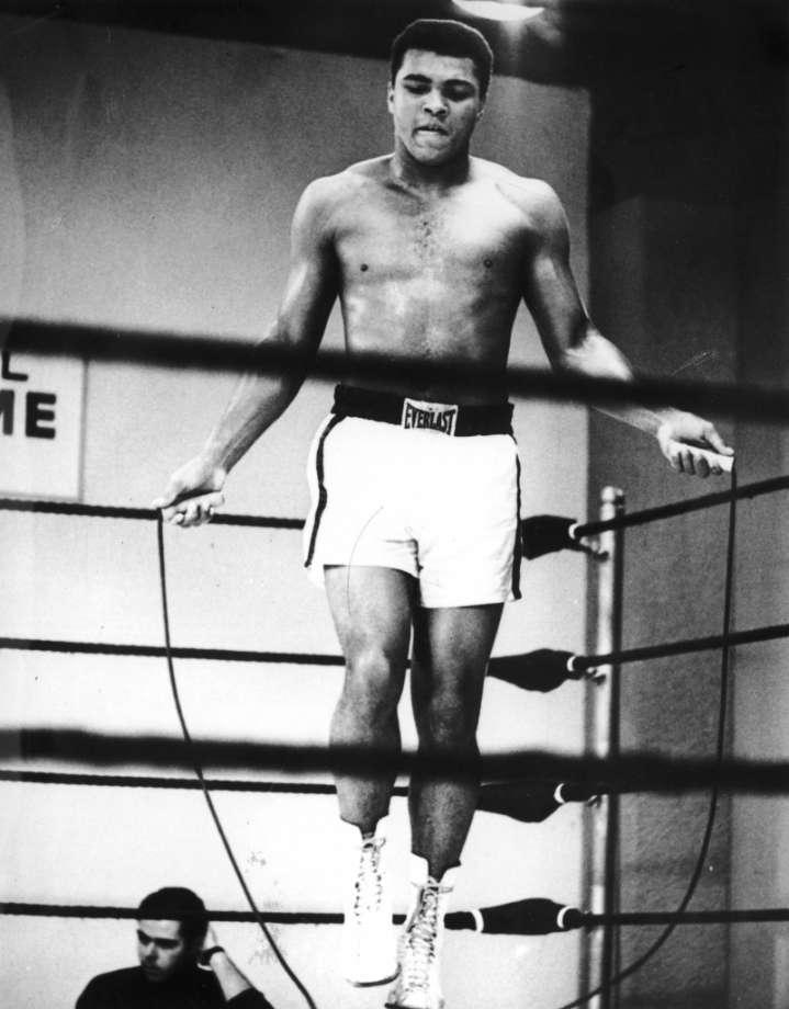 Muhammad Ali jump rope